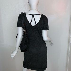 MWT Derek Heart T-shirt Dress Strap Back - L